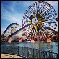Photo taken at Disney California Adventure by J. Sperling R. on 4/1/2013