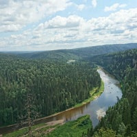 Photo taken at Усьвинские столбы by Ксения А. on 7/14/2016