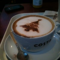 Photo taken at Costa Coffee by Nathan F. on 12/22/2012