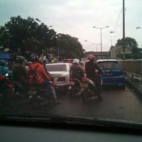 Photo taken at Underpass Pasar Gembrong by Opo S. on 2/17/2016