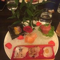 Photo taken at Yashin Sushi by Natália B. on 3/18/2016