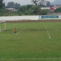 Photo taken at Complejo Deportivo Orizaba (CDO) by Sergio A. on 5/31/2015