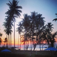 Photo taken at Lanta Pura Beach Resort by Matas on 3/24/2013