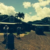 Photo taken at Princeville Ranch Adventures by Hiro N. on 7/2/2014