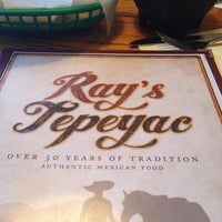 Photo taken at Ray's Tepeyac by mSpRiSyFuSyBuns on 9/15/2014