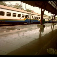 Photo taken at Pasar Senen Station by Merieska R. on 9/14/2012