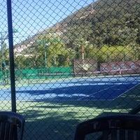 Photo taken at Kaya Thermal Tenis Kortları by Aytül on 4/16/2016