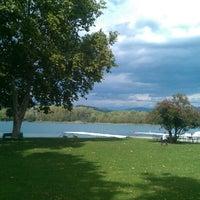 Photo taken at Estany de Banyoles by Ton F. on 9/26/2012