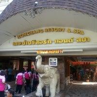 Photo taken at Koh Chang Resort And Spa by Narong J. on 3/20/2014