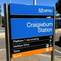 Photo taken at Craigieburn Station by James C. on 11/10/2012