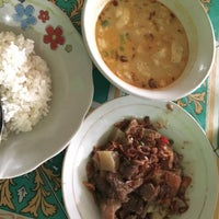 Photo taken at Soto Betawi H. Mamat by Mieke A. on 10/30/2016