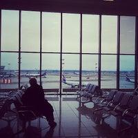 Photo taken at Terminal E by Alina M. on 4/28/2013