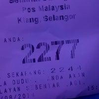 Photo taken at Post Office Klang by NIK on 8/4/2014