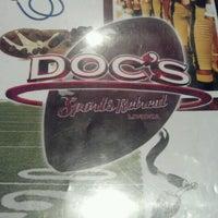 Photo taken at Doc's Sports Retreat by Jason G. on 9/18/2012