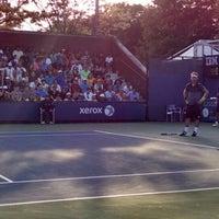Photo taken at Court 13 - USTA Billie Jean King National Tennis Center by Derek H. on 8/29/2014