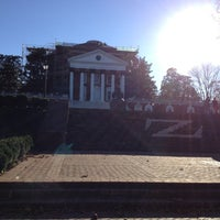 Photo taken at University of Virginia by Tiffany D. on 11/8/2012