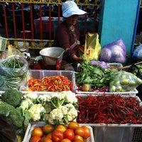 Photo taken at Pasar Kranggan by Izyan R. on 10/13/2012