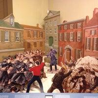 Photo taken at Baltimore Civil War Museum at President Street Station by Mark N. on 2/8/2014