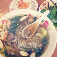Photo taken at Pho Thaison by Mark R. on 7/8/2013