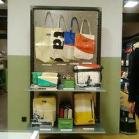 Photo taken at Freitag-Shop by sungkyung y. on 2/28/2014