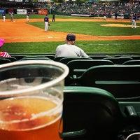 Photo taken at Louisville Slugger Field by Johnny B on 6/26/2013