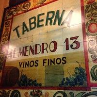 Photo taken at Taberna Almendro 13 by Paki on 3/31/2014