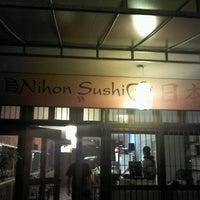 Photo taken at Nihon Sushi by Lucas V. on 11/22/2012