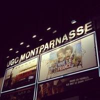Photo taken at UGC Montparnasse by Jérôme T. on 3/2/2013