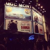 Photo taken at UGC Montparnasse by Jérôme T. on 1/20/2013