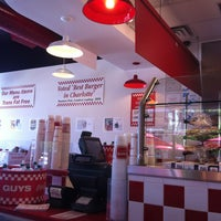 Photo taken at Five Guys by Victor C. on 7/4/2013