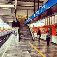 Photo taken at Metro Ermita by J. Manuel P. on 7/11/2013