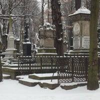 Photo taken at Cmentarz Powązkowski by Bolesław D. on 12/12/2012