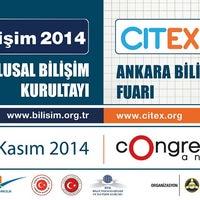 Photo taken at TBD Türkiye Bilişim Derneği by Arkan U. on 10/25/2014