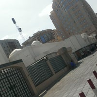 Photo taken at Masjid Abu Bakar, Madinah by Rais K. on 9/17/2016