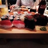 Photo taken at Edoki Sushi Bar by wusel on 10/24/2015