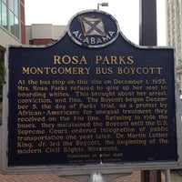 Photo taken at Rosa Parks Library and Museum by Dennis N. on 6/26/2014