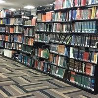 Photo taken at Mugar Library by Ugur B. on 7/3/2014