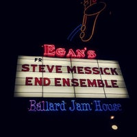 Photo taken at Egan's Ballard Jam House by David M. on 12/22/2012