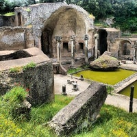 Photo taken at Villa Adriana by David O. on 5/20/2013
