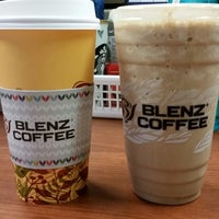Photo taken at Blenz Coffee by Nicole on 1/21/2015