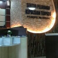 Photo taken at Poltabes Palembang by Kikyyy on 4/10/2013