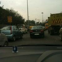 Photo taken at BRT Corridor by Arjun S. on 11/29/2012