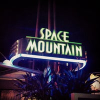 Photo taken at Space Mountain by Chase P. on 10/17/2012