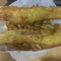 Photo taken at Harbor Fish and Chips by Juanita on 9/16/2012
