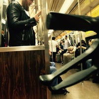Photo taken at MTA Subway - A Train by Kirsten P. on 9/25/2016