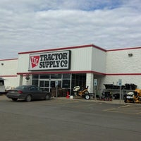 Photo taken at Tractor Supply Co. by Robert W. on 4/6/2013