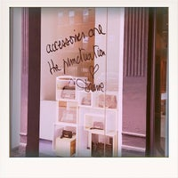 Photo taken at DVF Meatpacking by maggie b. on 9/24/2012