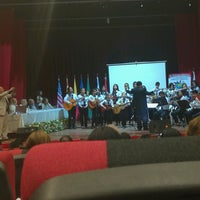 Photo taken at Teatro Municipal de San Lorenzo by Kari G. on 9/28/2016
