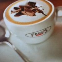 Photo taken at Fran's Café by Paulinelle Castro #. on 11/3/2012