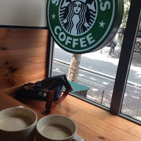 Photo taken at Starbucks by Zeynepnaz İ. on 7/14/2014